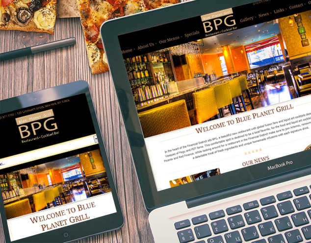 nyc restaurant website development