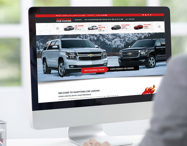 leasing website development