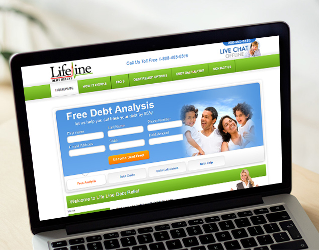debt company website