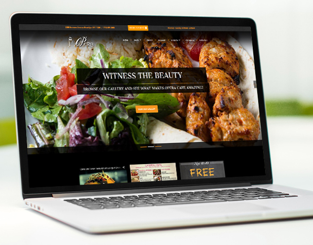 turksih restaurant websites