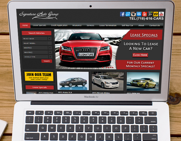 automotive websites